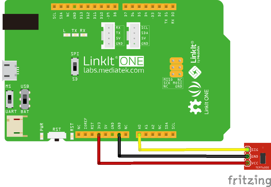 linkit and TEMT6000