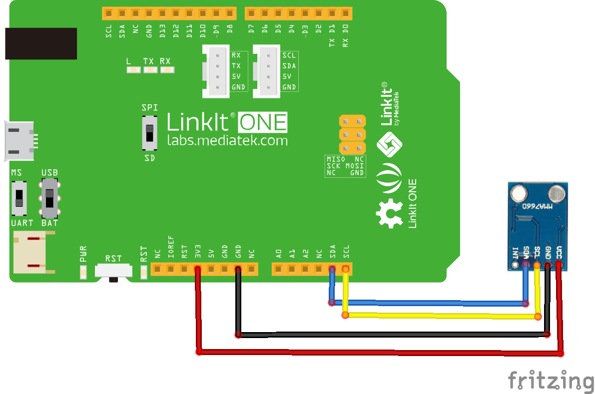 linkit and mma7660