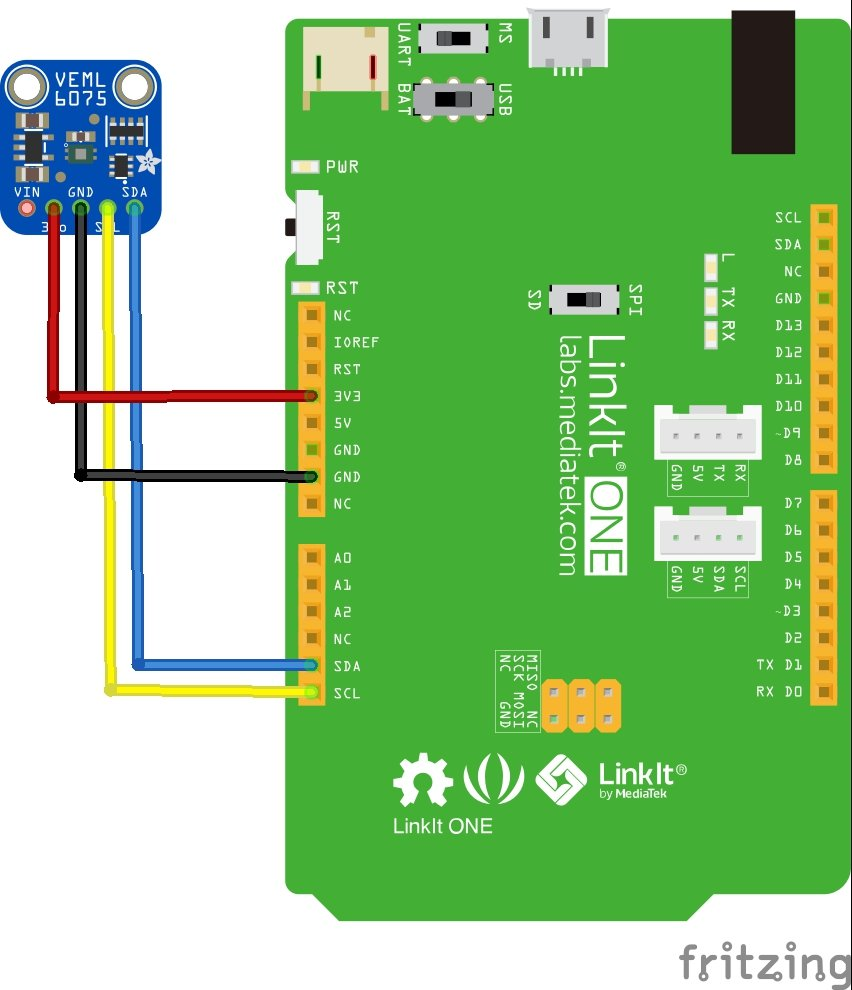 linkit and VEML6075 layout