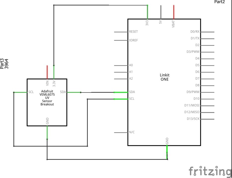 linkit and VEML6075 schematic